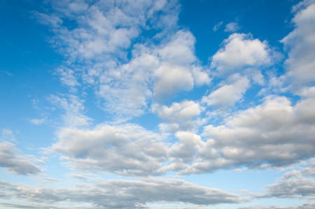 sky clouds texture, background. Dramatic cotton candy sky cloud texture background 写真素材