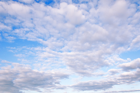 cotton cloud: sky clouds texture, background. Dramatic cotton candy sky cloud texture background Stock Photo