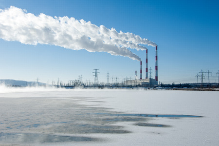 electricity generation: CHP. combined heat and power, a system in which steam produced in a power station as a byproduct of electricity generation is used to heat nearby buildings.