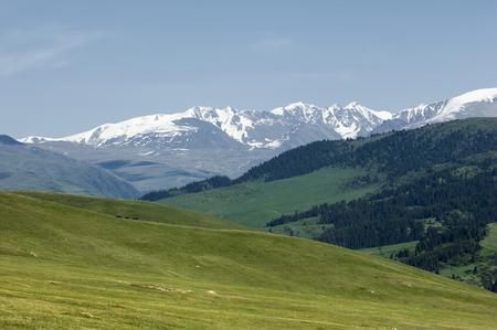 tien shan: mountain, mount, hill. Kazakhstan. Tien Shan. Assy plateau