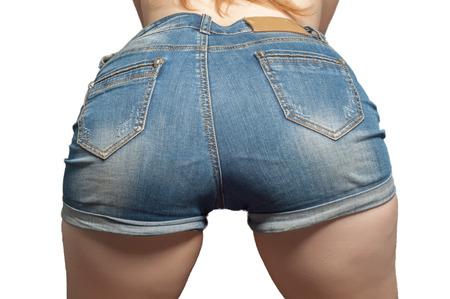 Arsch der jungen Frau XXX. Sexy Frau weiche Beute, Höschen. sexy Kurven Mädchen Hintern, ohne Cellulite