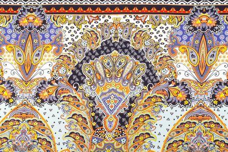 byzantium: fabric silk texture. Byzantine silk is silk woven in the Byzantine Empire (Byzantium) Stock Photo