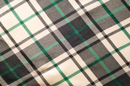 cotton fabric: The fabric in the Scottish style.