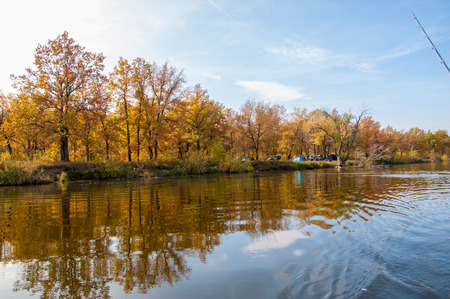 birchen: autumn, fall, leaf fall, fall of the leaf. a large natural stream of water flowing in a channel to the sea, a lake, or another such stream