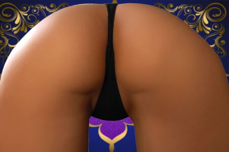 nude butt: Ass of young woman.Sexy woman soft booty, panties. sexy curves girl butt, without cellulite