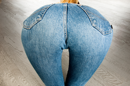 nude ass: Ass of young woman. Sexy woman soft booty, panties. sexy curves girl butt, without cellulite. ХХХ,
