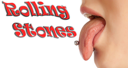 contributing: Tongue. The body in the mouth, which is the organ of taste, while also contributing to the formation of human speech sounds. Rolling Stones