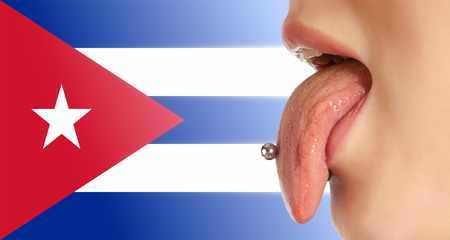 declare: Tongue. The body in the mouth, which is the organ of taste, while also contributing to the formation of human speech sounds. Cuban Language