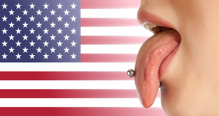 contributing: Tongue. The body in the mouth, which is the organ of taste, while also contributing to the formation of human speech sounds. American English