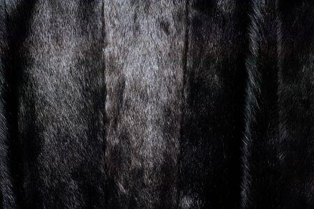 mink: Texture, background. Mink fur. Womens mink fur coat Stock Photo