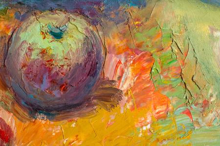 Khaziev Madiyar Sharipovich 타타르스탄의 영예로운 예술가. 질감, 배경입니다. 그림 기름으로 그렸다. 그림 캔버스 색칠, 정물화