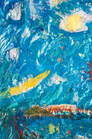 honored: Khaziev Madiyar Sharipovich Honored Artist of Tatarstan. picture painted on canvas with oil paints. abstract drawing