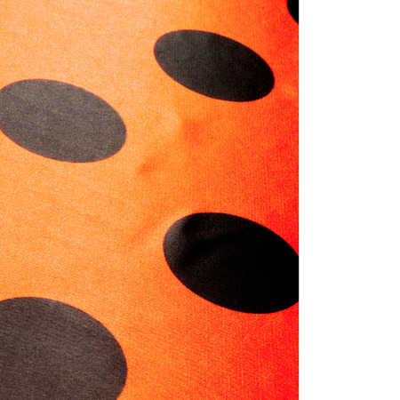 red polka dots: Tela roja lunares, textil, tela, tela, material, textura. o se relacione con tela o tejido. Foto de archivo