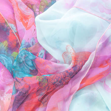 silky: tissue, textile, fabric, material, texture. Fabric photographed in the studio