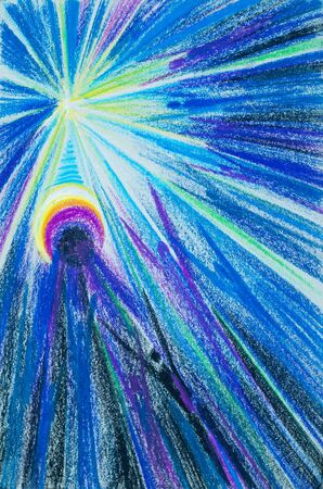 human being: a picture drawn with crayons. Flash Light. souls of people seeking the light. People Are People. the spiritual or immaterial part of a human being or animal, regarded as immortal.