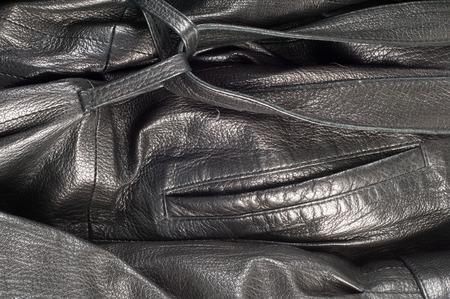 leather jacket: leather jacket. Photography Studio