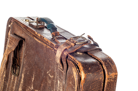 old suitcase.  suitcase, bag, trunk, case, handbag, valise