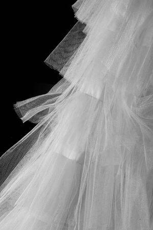 weave ball: Ball white.  White cloth.  tissue, textile, fabric, material, texture.