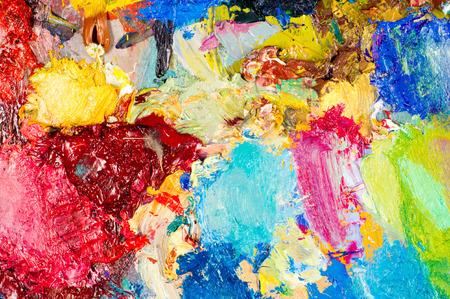Peintres palette. La palette de l'artiste