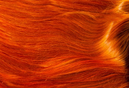 gingery: Texture, background. human hair red color.  highlight hair texture abstract background. Stock Photo
