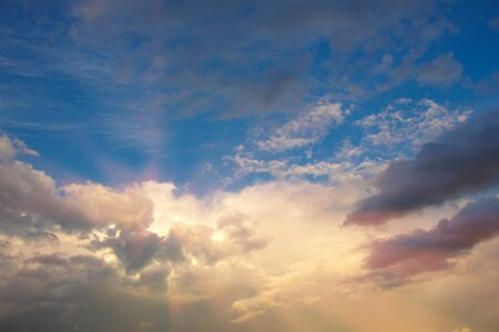 sunrises: Clouds sunrises sunsets. a visible mass of condensed water vapor floating in the atmosphere, typically high above the ground.