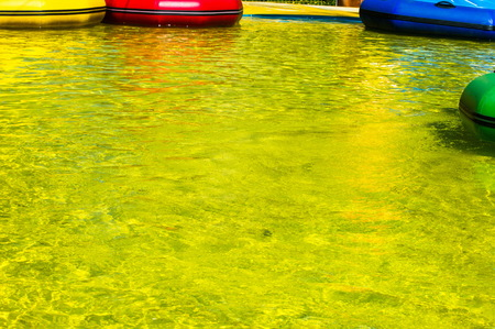 grand strand: Texture, background. the water in the pool, pool yellow colored yellow water Stock Photo