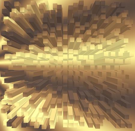 coordinates: Texture, background. Abstract polar coordinates
