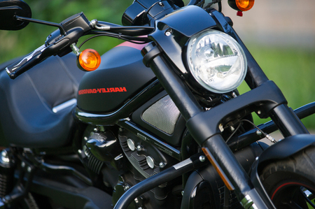 Russia Naberezhnye Chelny. 27.06,2016 Harley Davidson