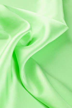 Green textiles. Photo taken in the studio Imagens