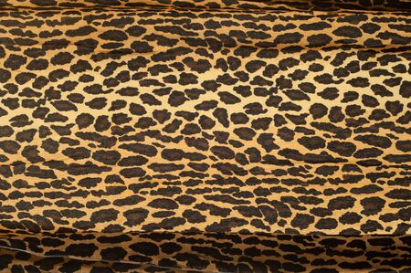 zoological: Fabric texture shaded under Leopard.  tissue, textile,  material,