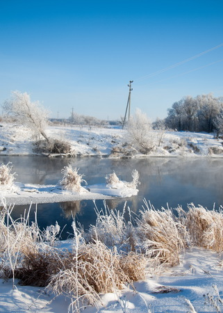 winter, winter-tide, winter-time,  hibernate, he coldest season of the year Stock Photo