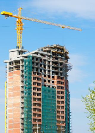 bidding: construction, building, development, constructing. Stock Photo