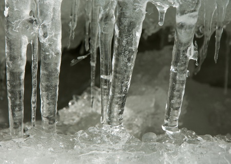 refrigerate: texture.  ice. Frozen ice on the river.