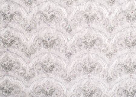 lace pattern: The texture of lace on the fabric. Slim beautiful lace