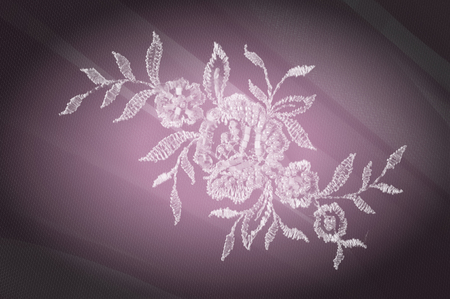 compiled: Texture, background, pattern. Silk fabric. Lace fabric. Compiled in Photoshop. Smooth elegant golden silk can be used as a wedding background. Greeting card, designer blank