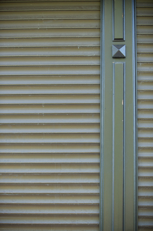 louvered: texture, background, pattern. Metal painted shutters