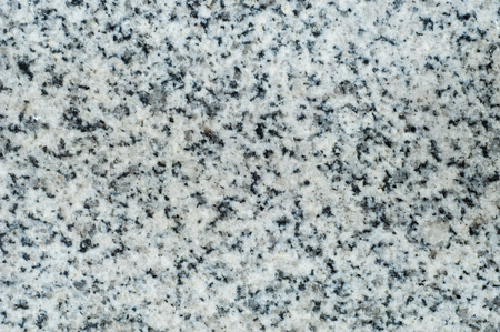 mined: Texture, background, pattern. Granite stone. Padang Gray light gray granite with pronounced specks of black, quartz color, mined in Fujian province in the southeast of China.