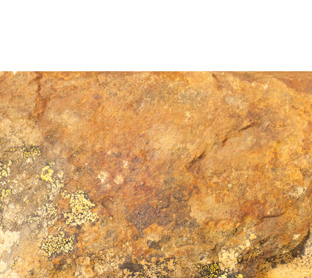 Wallpaper, texture. Stone granite is covered with colorful moss, lichen.