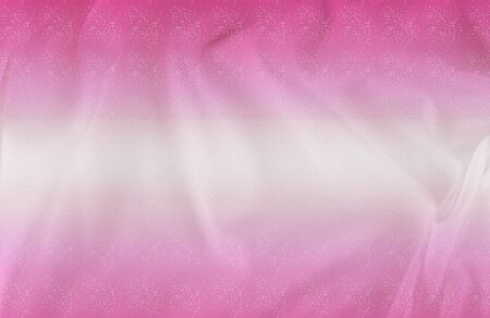 exture. silk fabric - white pink shine. With flowers that disappear from one to another, and his drapery, flowing with each movement, creates truly elegant figures. Stock Photo