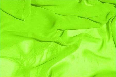 Background texture pattern. Lime Solid Silk Faile. Presenting this high quality silk faille made specifically for Mood This gorgeous, medium-weight fabric contains a rich luminescence is super smooth Reklamní fotografie