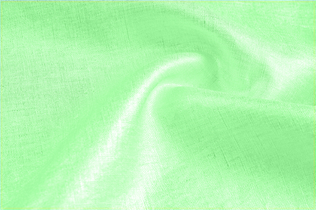 background texture, linen cloth green. Cool as a light breeze, representing a lightweight fabric that will satisfy various design needs. Sluggish linen fabrics are well suited for your creativity.
