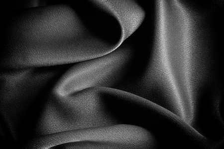テクスチャ、背景。テンプレートです。学校布は黒、グレー。ライリー ブレイク シングル ジャージー ニットの固体生地の 2 つの連続的なヤード 写真素材