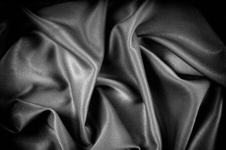 テクスチャ、背景。テンプレートです。学校布は黒、グレー。ライリー ブレイク シングル ジャージー ニットの固体生地の 2 つの連続的なヤード 写真素材 - 90264181