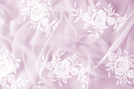 Texture background pattern lacy white fabric flowers made lacy white fabric flowers made of lace fabric pink background of silk fabric greeting card wallpaper for your desktop screensaver backdrop for designer mightylinksfo