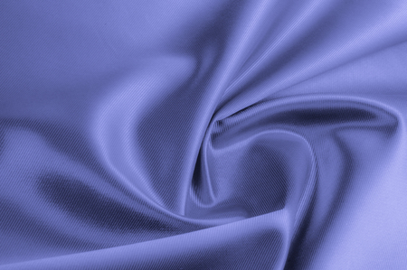 Texture, background, pattern. Fabric silk color cobalt, smalt, blue royal. Blue silk satin hemp Material Fabric Azure cobalt sapphire Ravenclaw Royal