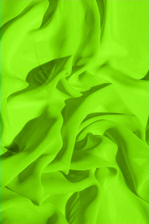 Background texture pattern. Lime Solid Silk Faile. Presenting this high quality silk faille made specifically for Mood This gorgeous, medium-weight fabric contains a rich luminescence is super smooth 写真素材