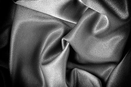テクスチャ、背景。テンプレート。学校の布は黒、灰色です。ライリーブレイクシングルジャージーニットソリッドファブリックの2つの連続ヤード 写真素材 - 96328722