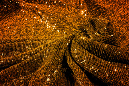 Texture, background, pattern, fabric with paillettes. Nothing helps you stand out in the crowd like a shine! We present a fabulous fabric with rainbow sparkles on a mesh net.