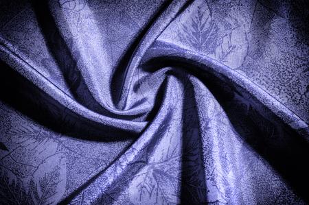 テクスチャ、背景、パターン。布シルクブルー。写真付きのゲームがあなたに見える場合は、NYCデザイナークレープ・ド・チネシルクパネルのこの 写真素材