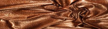 The texture of the skin color. Skin texture, background Golden brown shiny skin Stock Photo
